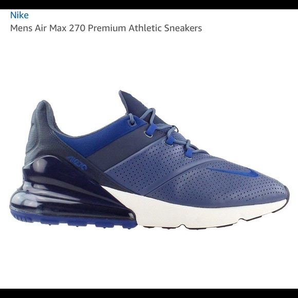 b3b1bbb8f Nike Shoes | New Air Max 270 Sneakers Blue 115 Nib | Poshmark